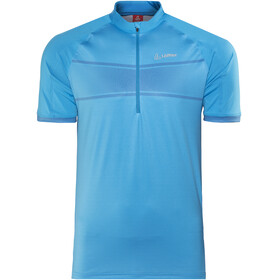 Löffler Hotbond Running Zip-Shirt Herren royal